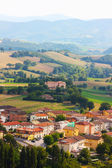 Small ancient town Cigillo taken in the Apennines — Stock Photo