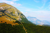 アペニン山脈の美しさはイタリアで撮影されました。 — ストック写真
