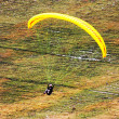 Paraglider in the alps, Slovenia — Stock Photo #3751139