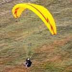 Paraglider in the alps, Slovenia — Stock Photo #3751151