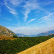 Amazing landscape of Apennines — Photo