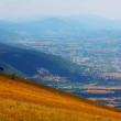 Beautiful Landscapes of the mountains taken in the Apennines - 图库照片