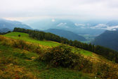 Amazing ladnscape of the Alps — Stock Photo