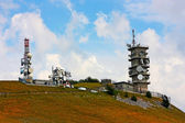 Weather station taken in the Apennines — Stock Photo