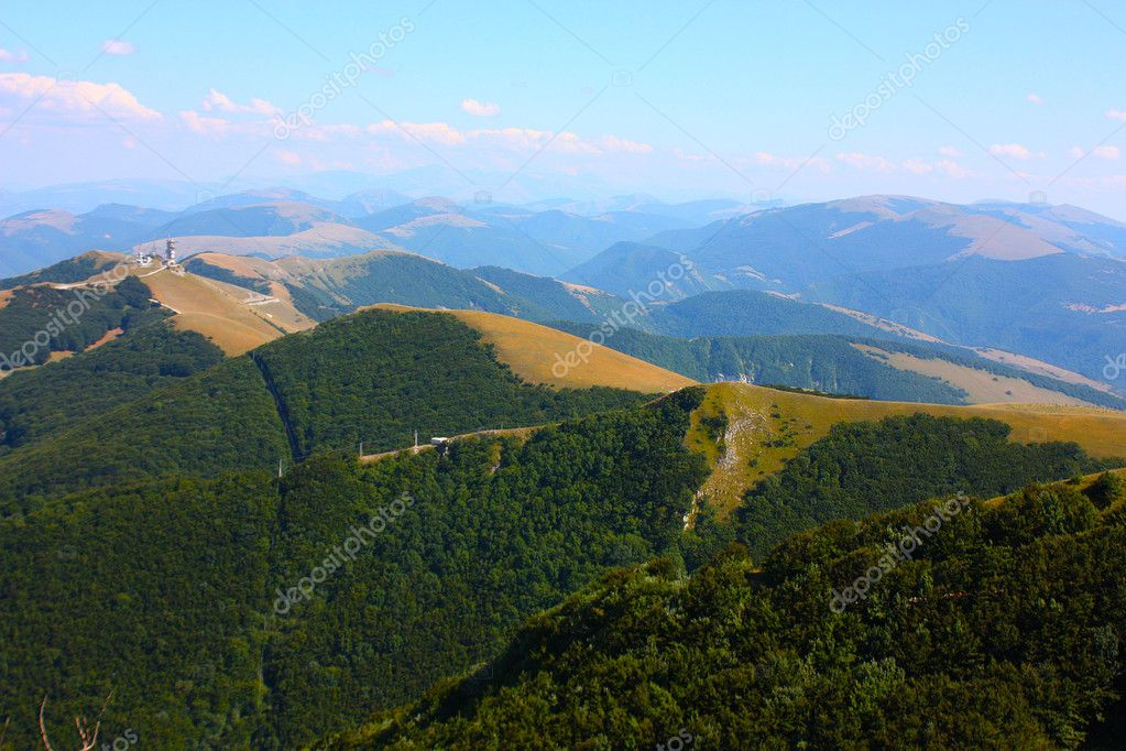 Apennines beauty taken in Italy on the Monte Cucco mountain — Stock Photo #3784140