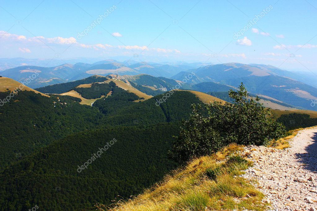 Apennines beauty taken in Italy on the Monte Cucco mountain — Stock Photo #3784221