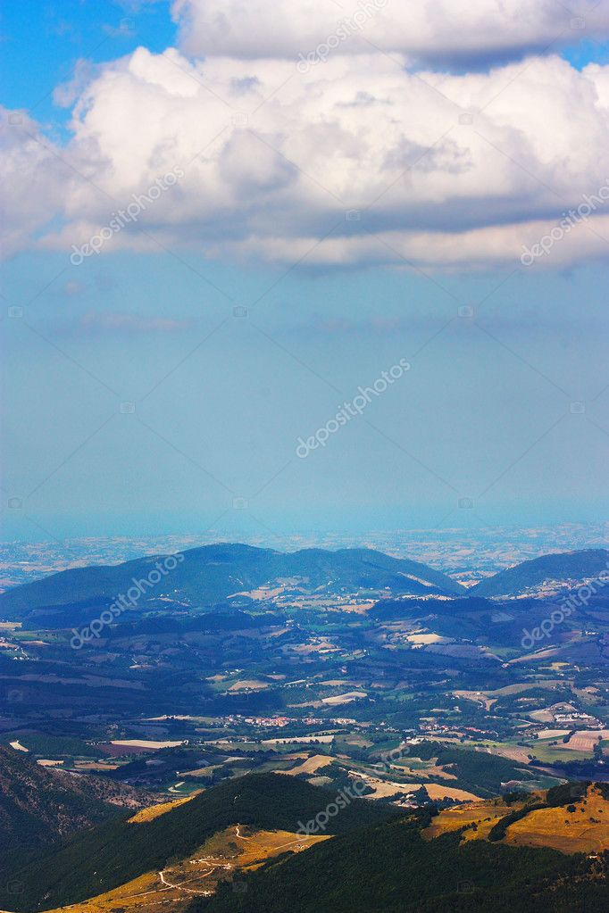Apennines beauty taken in Italy on the Monte Cucco mountain — Stock Photo #3784244
