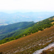 Beautiful Landscapes of the mountains taken in the Apennines - Stock Photo