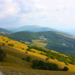 Beautiful Landscapes of the mountains taken in the Apennines - Stockfoto