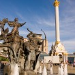 Statue of an angel in Kiev — Stock Photo #2947797