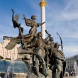 Statue of an angel in Kiev — Stock Photo #2947852