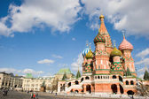 Vasil's Cathedral on the Red Square — Stock Photo