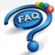 Faq - Stock Vector