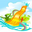 Water fun — Stock Vector #3141983