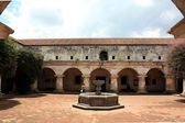 Old convent in Antigua — Stock Photo