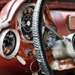 Stock Photo: Interior in an old car