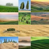 Beautiful pictures from Tuscany, Italy — Stock Photo
