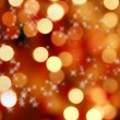 Abstract background of christmas lights — Stock Photo