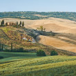 Tuscany summer landscape — Stock Photo