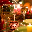 Christmas place setting — Stockfoto #3823280