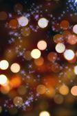 クリスマス ライトの抽象的な背景 — ストック写真