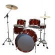 Drum Kit isolated on a white — Stock Photo #2865896