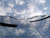 Modern corporate building in Tallinn Estonia — Stock Photo
