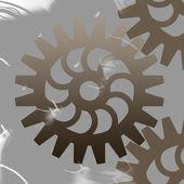 Abstract cogwheels — Stock Vector
