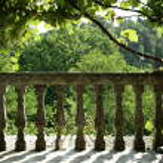 Southern terrace — Stock Photo