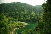 如诗如画的湖 — 图库照片