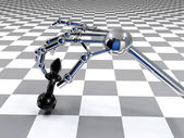 Mano de robot — Foto de Stock