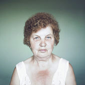 Gracious senior lady portrait — Stock Photo