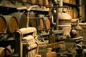Antiquaires bouteilles à vin. — Photo
