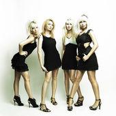 Four beautiful women — Stock Photo