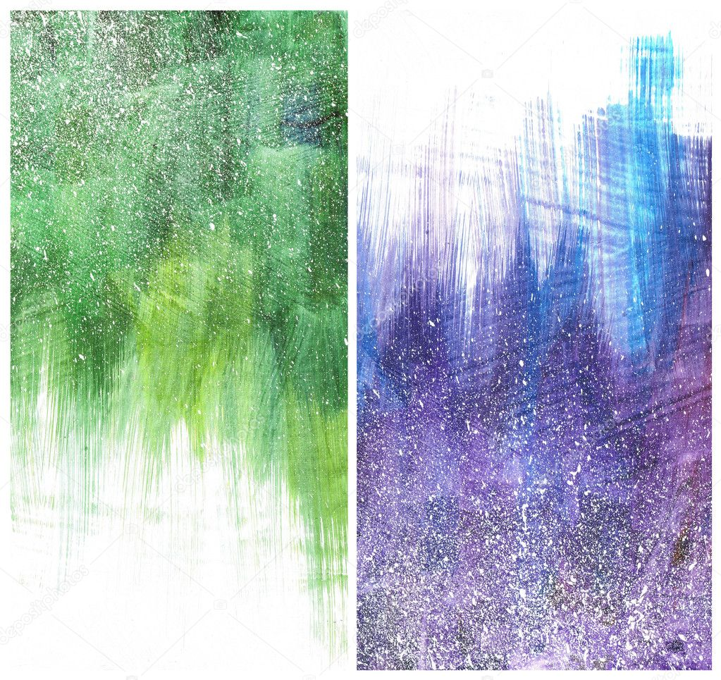 William Bogert Wallpapers Beautiful watercolor background in soft purple blue and green