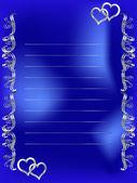 Μπλε πλαίσιο — Διανυσματικό Αρχείο
