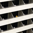 Hotel balconies — Stock Photo