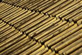 Golden tiles — Stock Photo