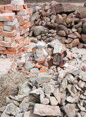Pile of f rubble — Stock fotografie