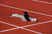 Track and field — Stock Photo
