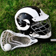 Stock Photo: Lacrosse Equipment