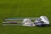 Lacrosse Equipment — Stock Photo