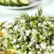 cucumber salad&quot — Stock Photo #2814485