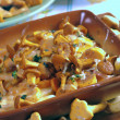 Royalty-Free Stock Photo: Fried golden chanterelles