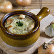 French onion soup — Stock Photo #2814819