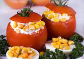 Tomatoes Stuffed — Stock Photo