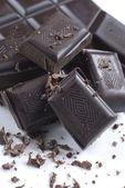 Black chocolate — Stock Photo