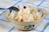 Sauerkraut in a bowl — Stock Photo