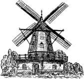 Wind mill — Stock Vector