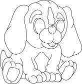 Puppy — Stock Vector